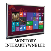 Monitory interaktywne LED